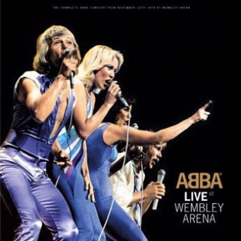 ABBA - Live At Wembley Artwork