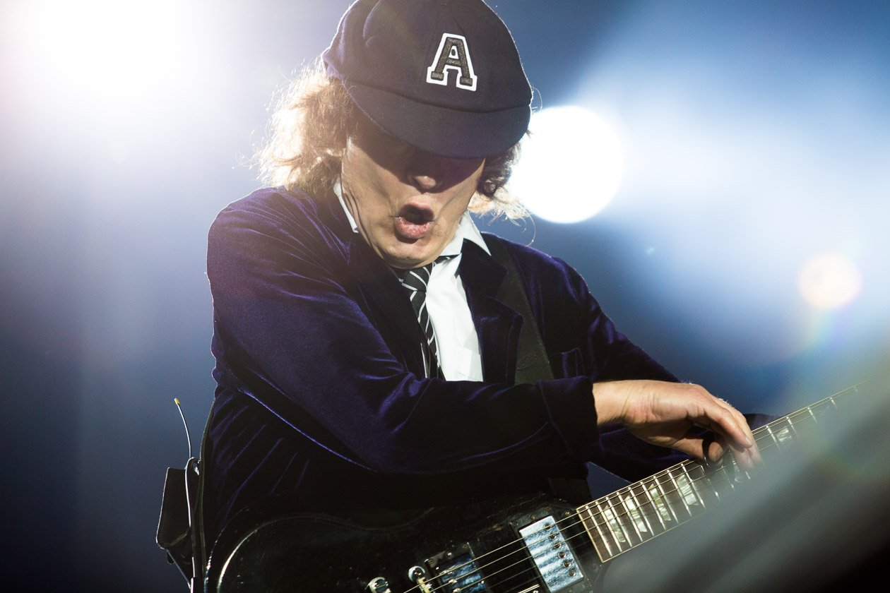 AC/DC – Angus Young.