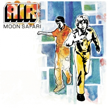 Air - Moon Safari Artwork