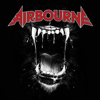 Airbourne - Black Dog Barking Artwork