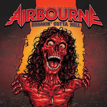 Airbourne - Breakin' Outta Hell Artwork