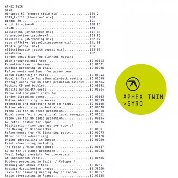 Aphex Twin - Syro Artwork