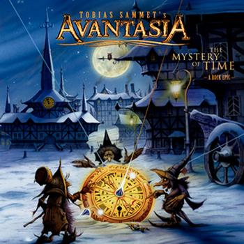 Avantasia - The Mystery Of Time Artwork