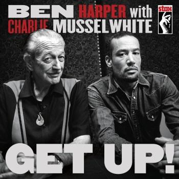 Ben Harper & Charlie Musselwhite - Get Up! Artwork