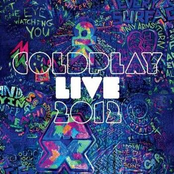 Coldplay - Live 2012 Artwork