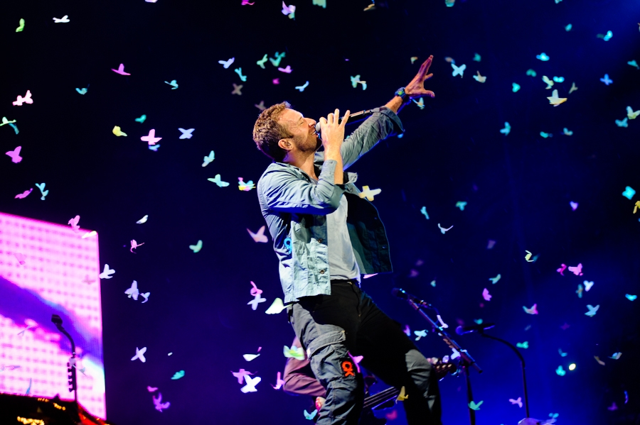 Coldplay als Headliner bei RAR 2011. – Coldplay als Headliner bei Rock Am Ring.
