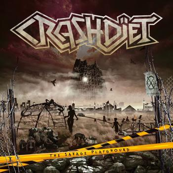 Crashdiet - The Savage Playground Artwork