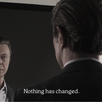 David Bowie - Nothing Has Changed Artwork