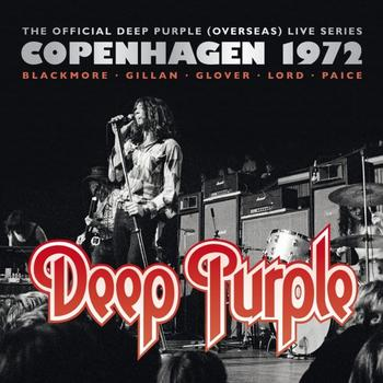 Deep Purple - Copenhagen 1972 Artwork