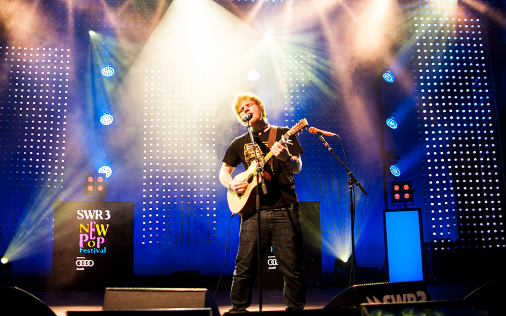 Ed Sheeran live beim New Pop Festival 2012 – Ed Sheeran