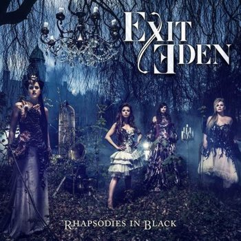 Exit Eden - Rhapsodies In Black Artwork