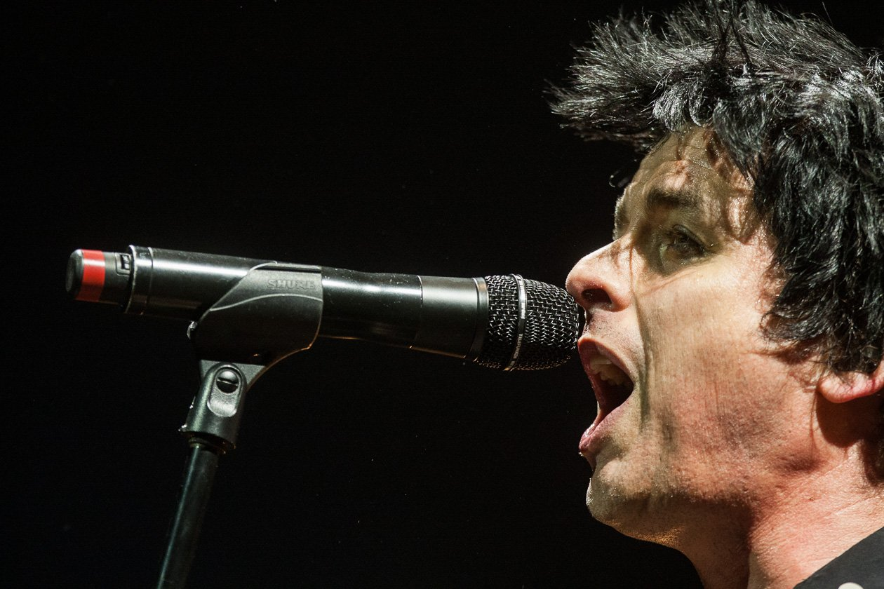 Green Day – Billie Armstrong.
