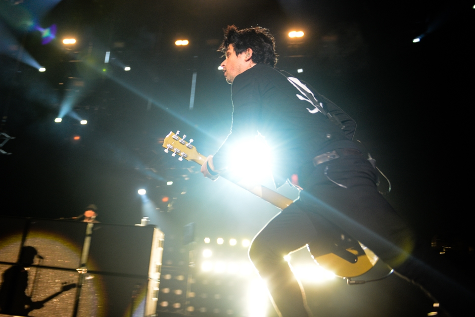 Headliner am Sonntag: Billie Joe Armstrong und Co. – Green Day.