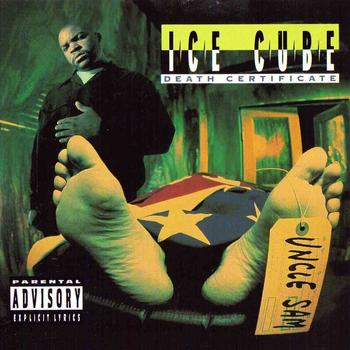 Ice Cube - Death Certificate Artwork