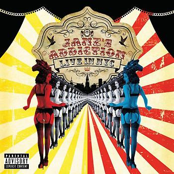 Jane's Addiction - Live In NYC Artwork