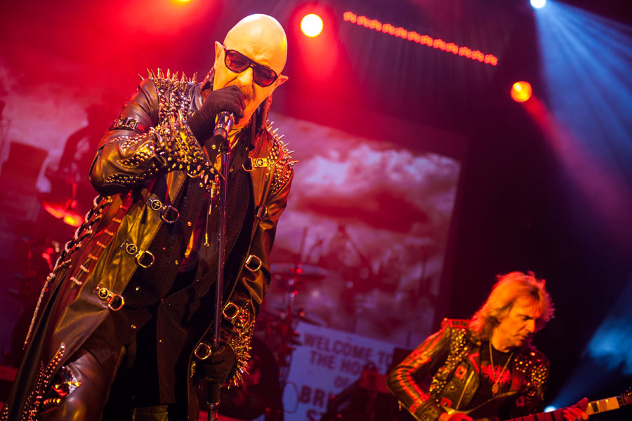 Judas Priest – Die Metal-Urviecher in Düsseldorf. – Halford again.