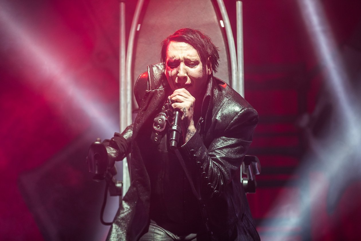 """Heaven Upside Down"" im Rheinland. – Marilyn Manson."