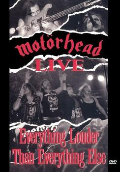Motörhead - Everything Louder Than Everything Else Artwork