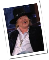 Guns N' Roses: Axl Rose lacht in US-Talkshow