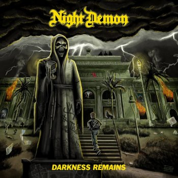 Night Demon - Darkness Remains Artwork