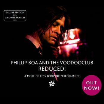 Phillip Boa - Reduced! (A More Or Less Acoustic Performance) Artwork