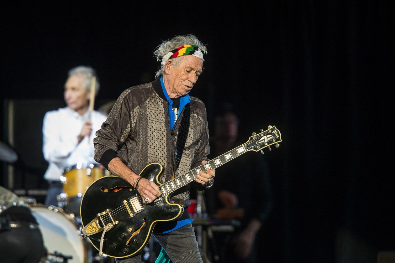 Rolling Stones – Keith Richards.