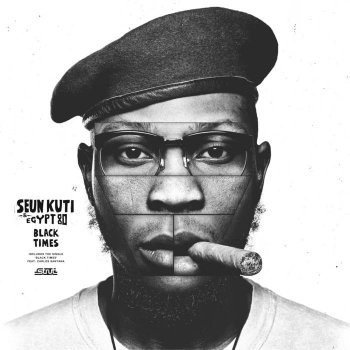 Seun Kuti & Egypt 80 - Black Times Artwork