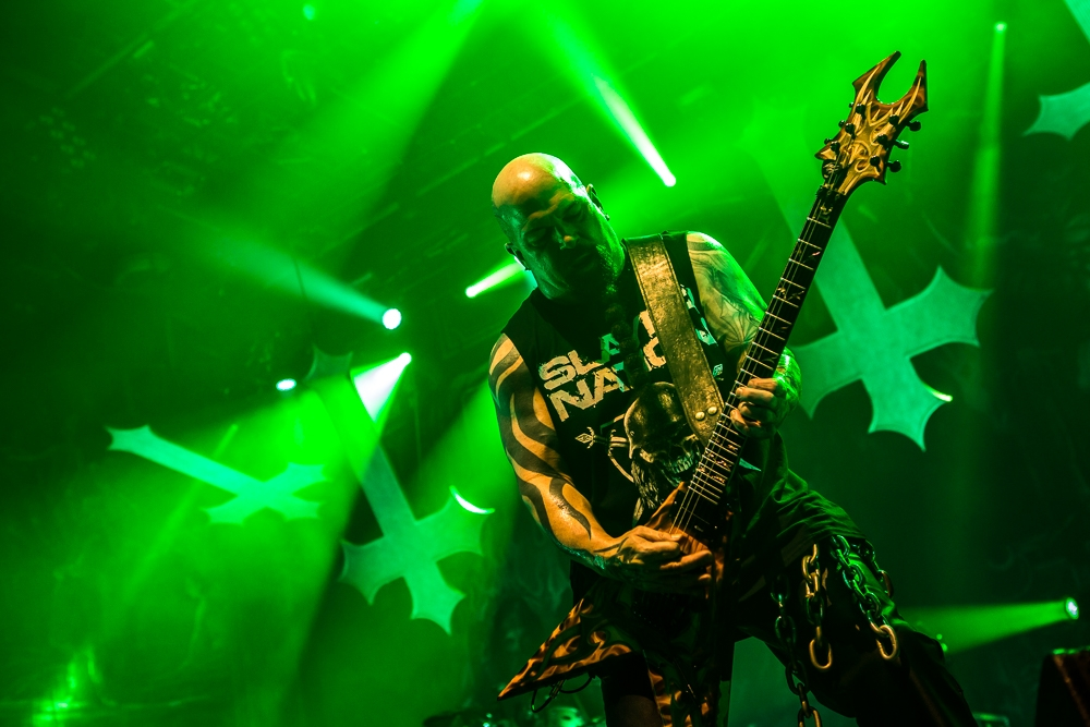 Slayer – Im Powerpack mit Anthrax und Kvelertak. – Kerry King.