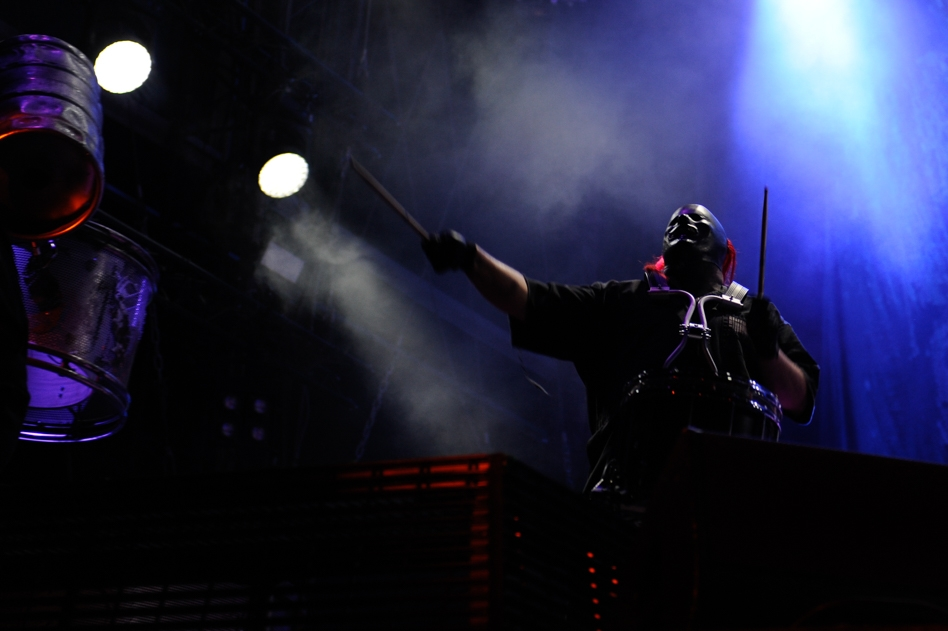 Slipknot – Shawn Crahan.