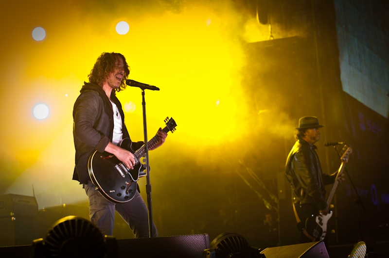 Die amtliche Reunion um Chris Cornell. – Soundgarden, Rock am Ring 2012.