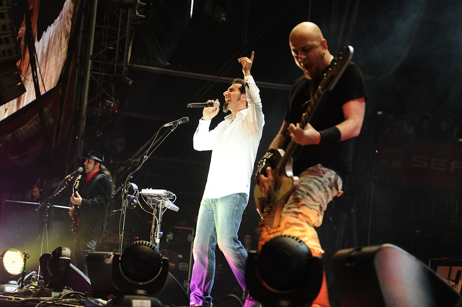 System Of A Down auf dem Headliner-Slot. – System Of A Down bei Rock Am Ring 2011.