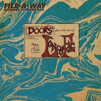 The Doors - London Fog 1966 Artwork