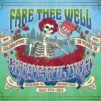 The Grateful Dead - Fare Thee Well Artwork