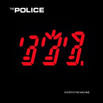 The Police - Ghost In The Machine Artwork