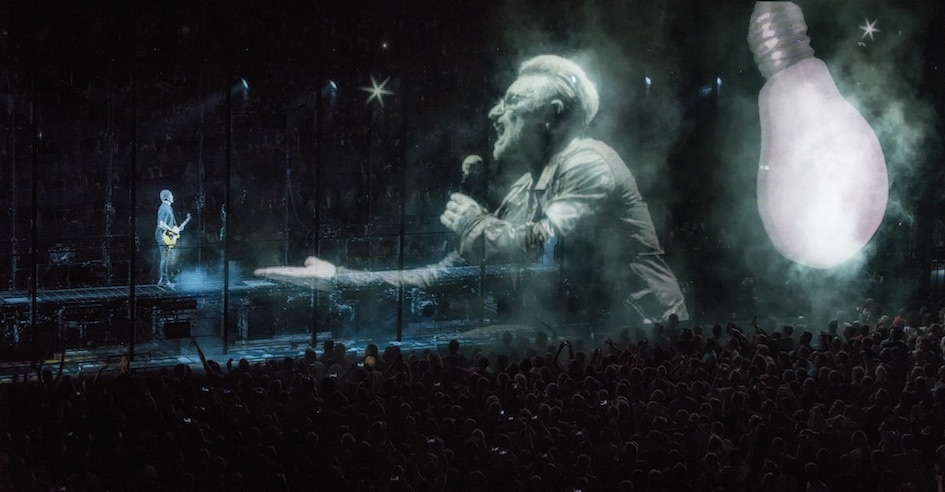 U2 – Auf iNNOCENCE and eXPERIENCE-Tour.