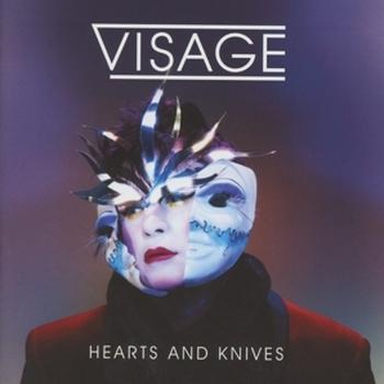 Visage - Hearts And Knives Artwork