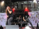 Die nationale Death/Thrash-Speerspitze on stage., Live auf dem Summer Breeze 2005 | © LAUT AG (Fotograf: Michael Edele)