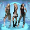 Atomic Kitten in eisigem Blau.|© Virgin Music