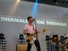 Rock auf dem Rollfeld: The Thermals beim Berlin Festival 2009 in Tempelhof., The Thermals beim Berlin Festival 2009 | © laut.de (Fotograf: Benjamin Dahl)