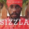 Sizzla - 'The Journey - The Very Best Of Sizzla Kalonji' (Cover)