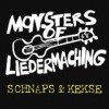 Monsters Of Liedermaching - Schnaps & Kekse: Album-Cover