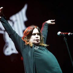 """I can't fuckin' hear you"": Ozzy Osbourne."