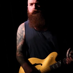 "Bassist Chris ""Fatty"" Hargreaves."