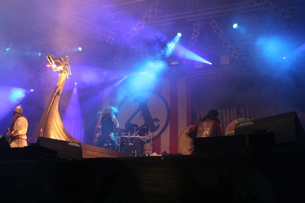 Amon Amarth – Auf dem Summer Breeze Festival 2007. –