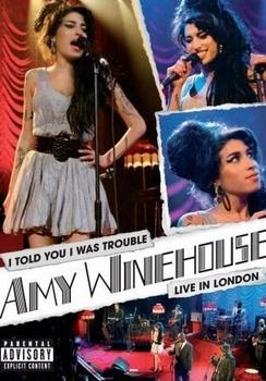 Amy Winehouse - I Told You I Was Trouble Artwork