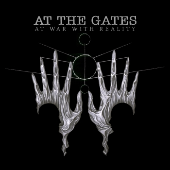 At The Gates - At War With Reality Artwork