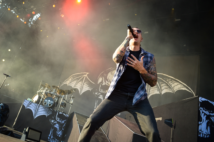 Avenged Sevenfold – Hail To The King Of The Ring! – M. Shadows