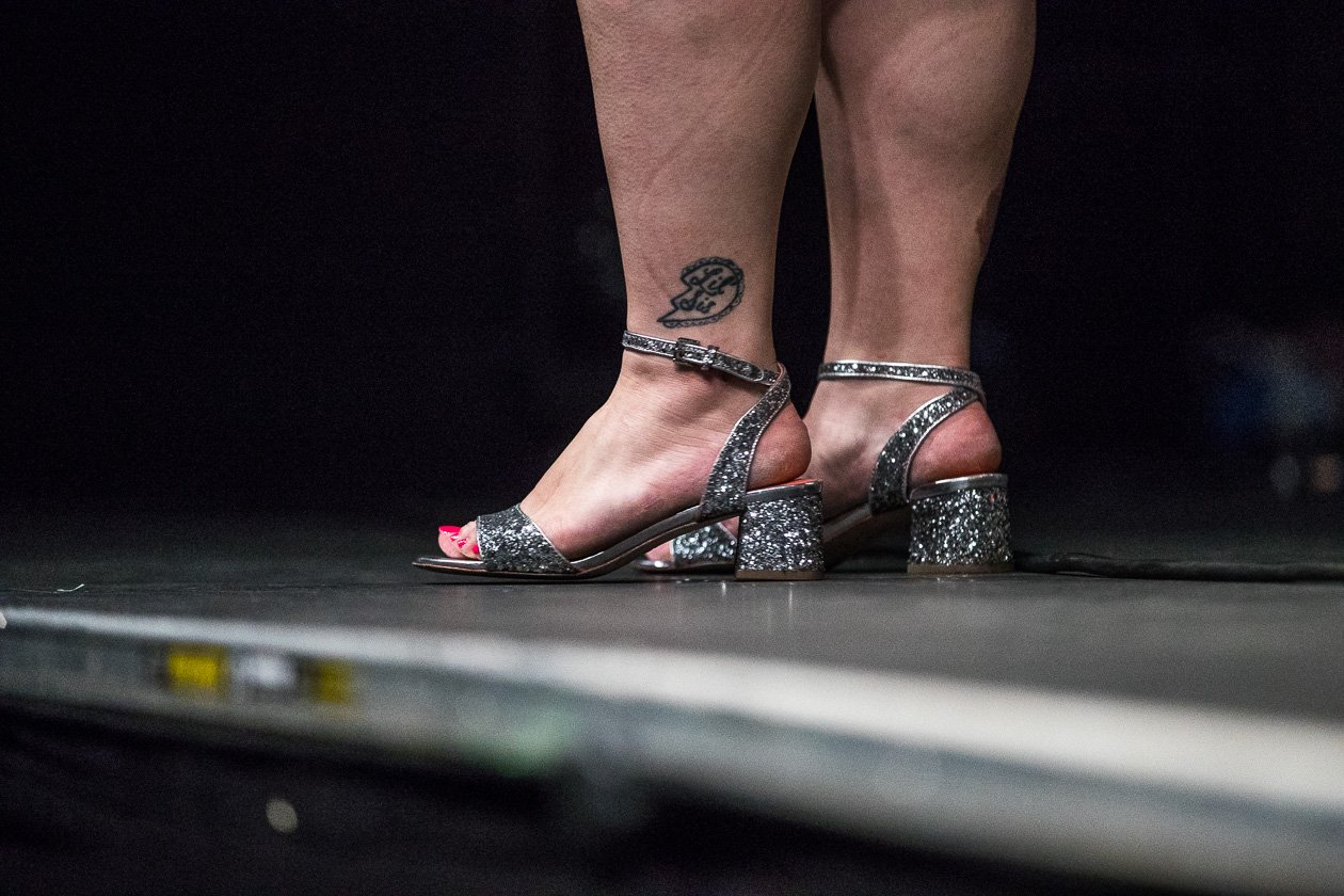 Beth Ditto – Die The Gossip-Frontfrau solo. – On stage.