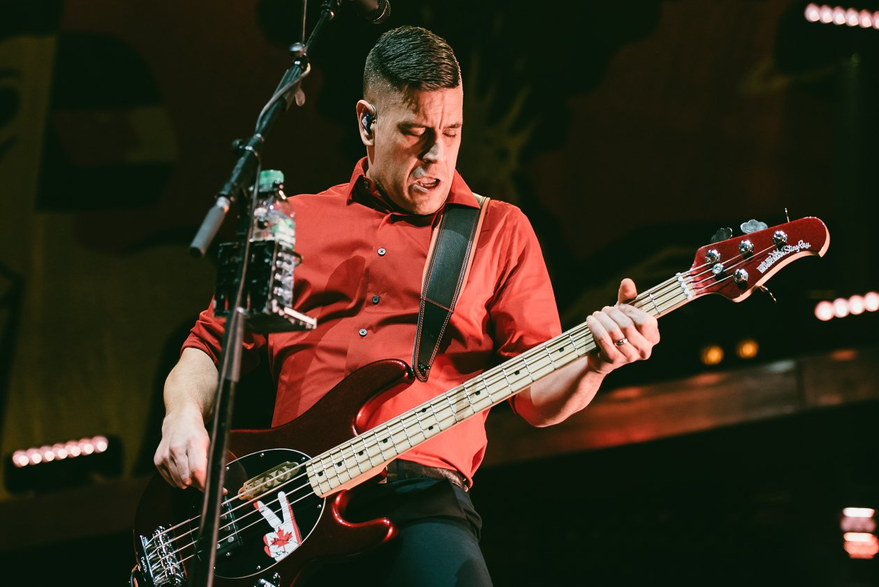 Billy Talent – Jonathan am Bass.