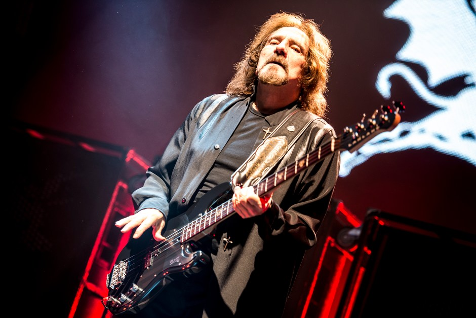Black Sabbath – Alt-Metal in der Westfalenhalle. – Geezer Butler.